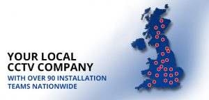 Your local cctv company with 90 installation teams nationwide