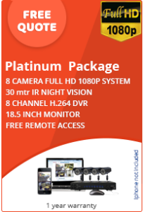 Platinum CCTV Package for Business