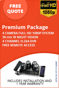 Premium Home CCTV Package - Free Quote
